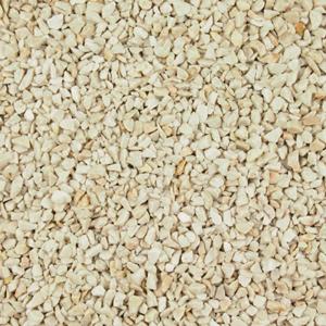 beige white pebbles resin